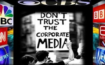 corporate media caters to big money